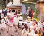 Guests Dancing at the Castle House and Gardens in Santa Cruz Wedding Photographer