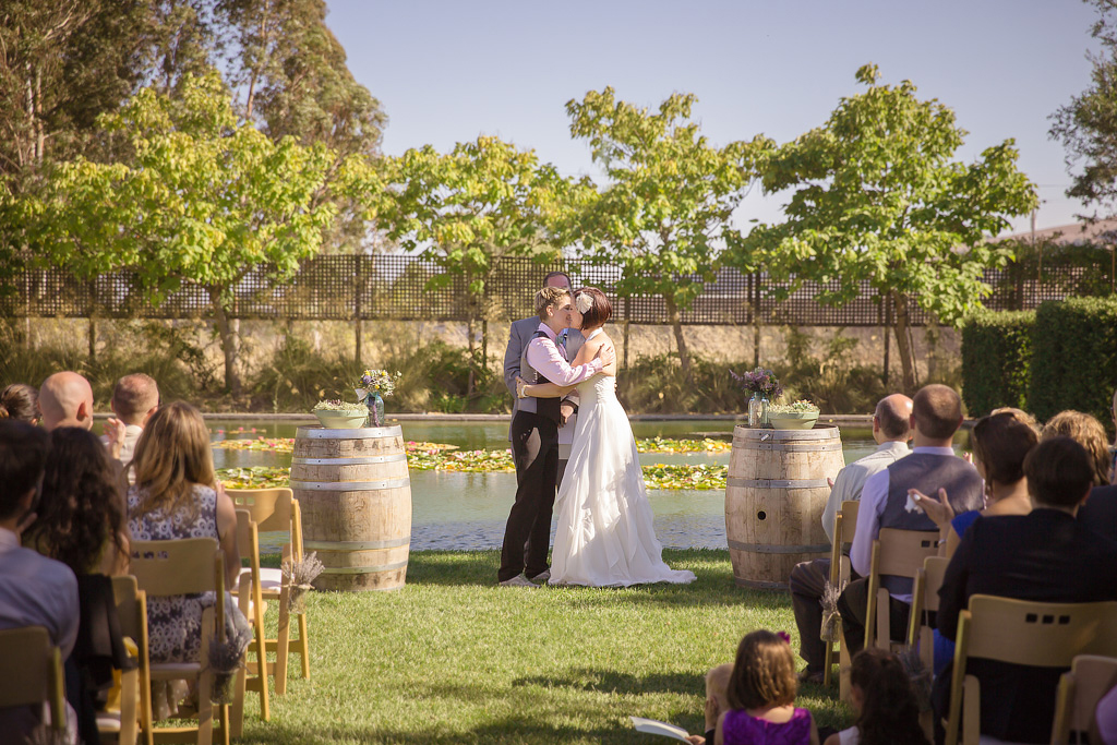 032 Cornerstone Gardens Sonoma  Wine Country Same Sex Lesbian LGBT Wedding Photographer